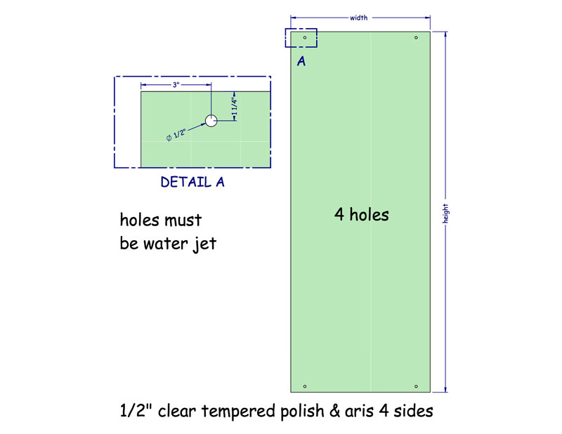 Glass Preparation File For All Glass Doors